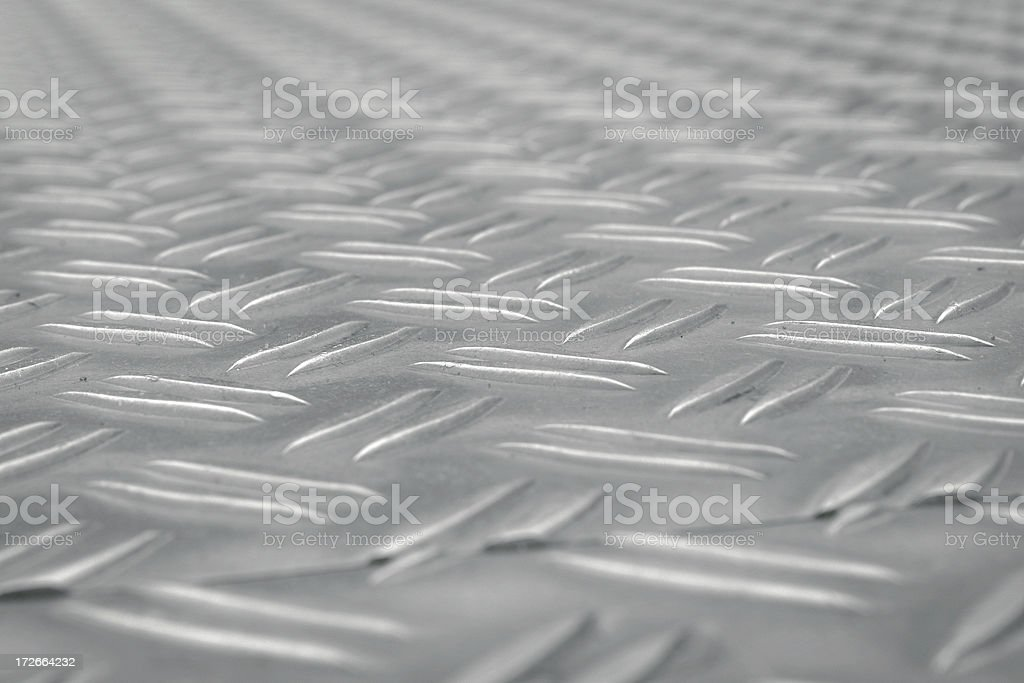 Backgrounds: Metal Flooring stock photo