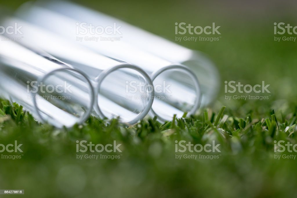 Backgrounds of glassware in Lab. royalty-free stock photo