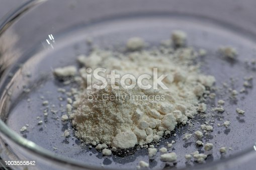 Backgrounds of Powder Polymer for education in Lab.