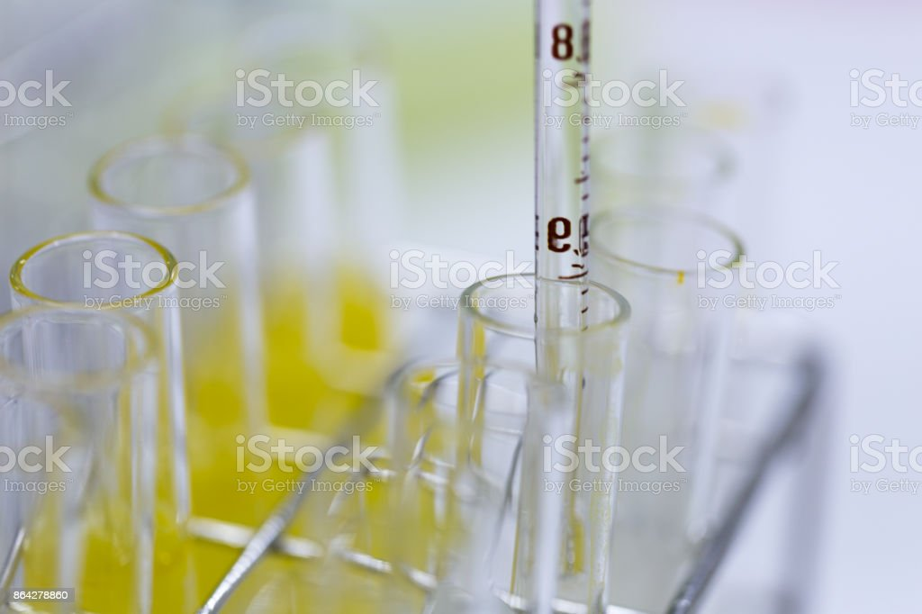 Backgrounds of Science research and Chemical in laboratory. royalty-free stock photo