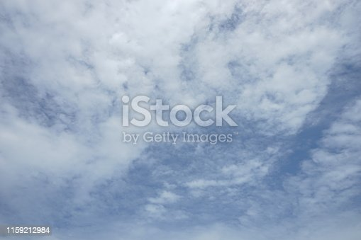 istock Backgrounds vintage soft sky with sunlight 1159212984