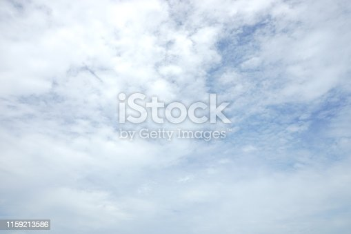 istock Backgrounds vintage soft sky with sunlight 1159213586