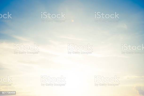 Photo of backgrounds vintage soft sky with sunlight
