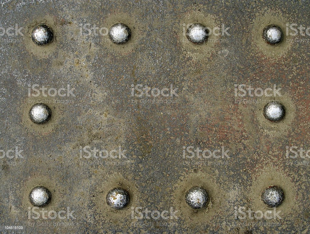 backgrounds with rivets royalty-free stock photo
