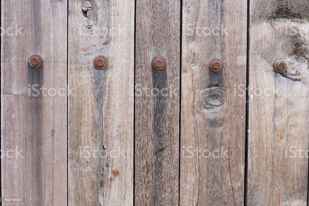 backgrounds Wooden wall stock photo