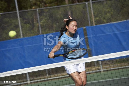 istock Backhand volley 172714096
