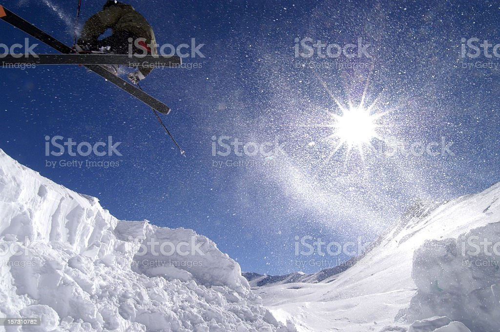 Salto in controluce royalty-free stock photo