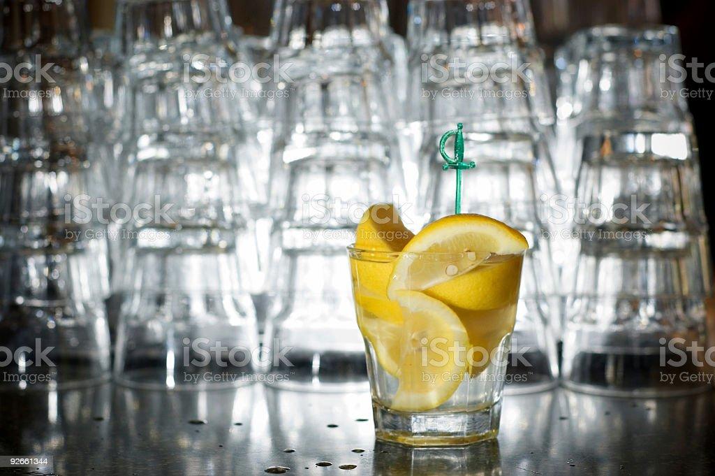 backlit bar royalty-free stock photo