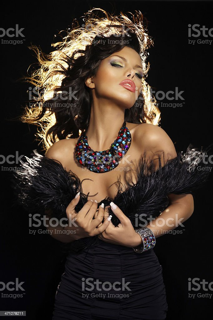 Backlit Beauty royalty-free stock photo
