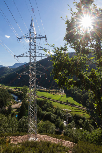 Backlit Electric Lying - Tendido Electrico a Contraluz