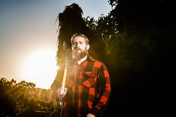 backlit lumberjack urban lumberjack over DC lumberjack stock pictures, royalty-free photos & images