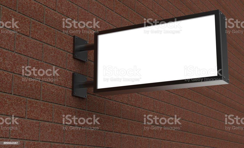 Backlit Signage Board Led Glow Advertising Board Vinyl Company Sign
