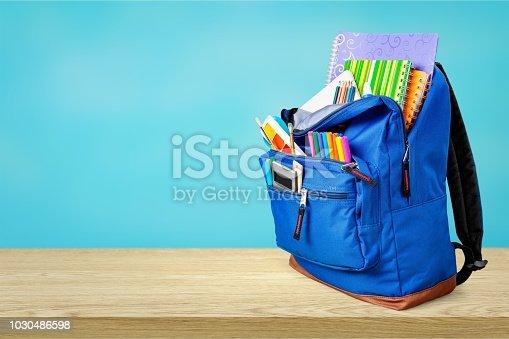 istock Backpack. 1030486598