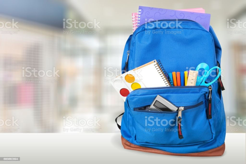 Backpack. royalty-free stock photo