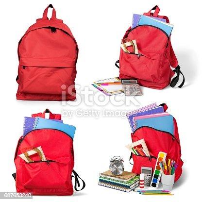 istock Backpack. 687653240