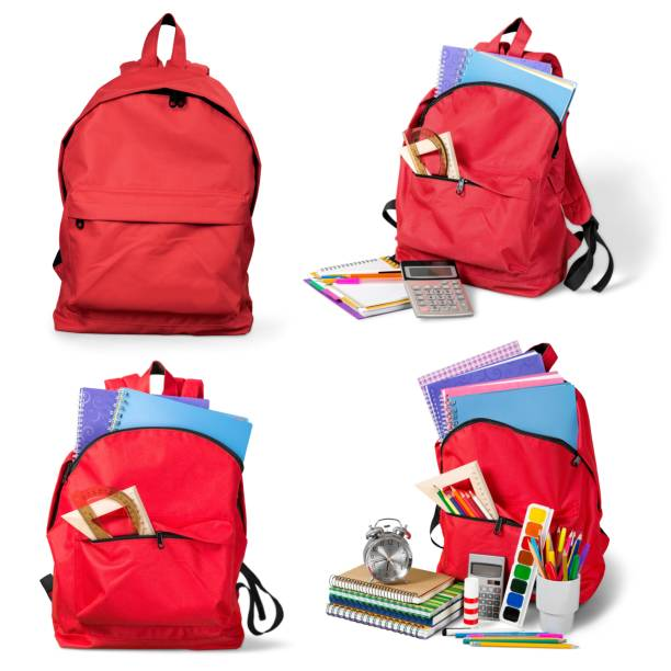 Backpack. stock photo