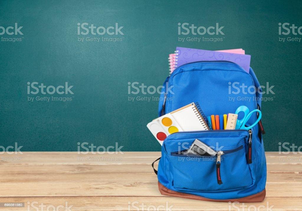 Backpack. stock photo