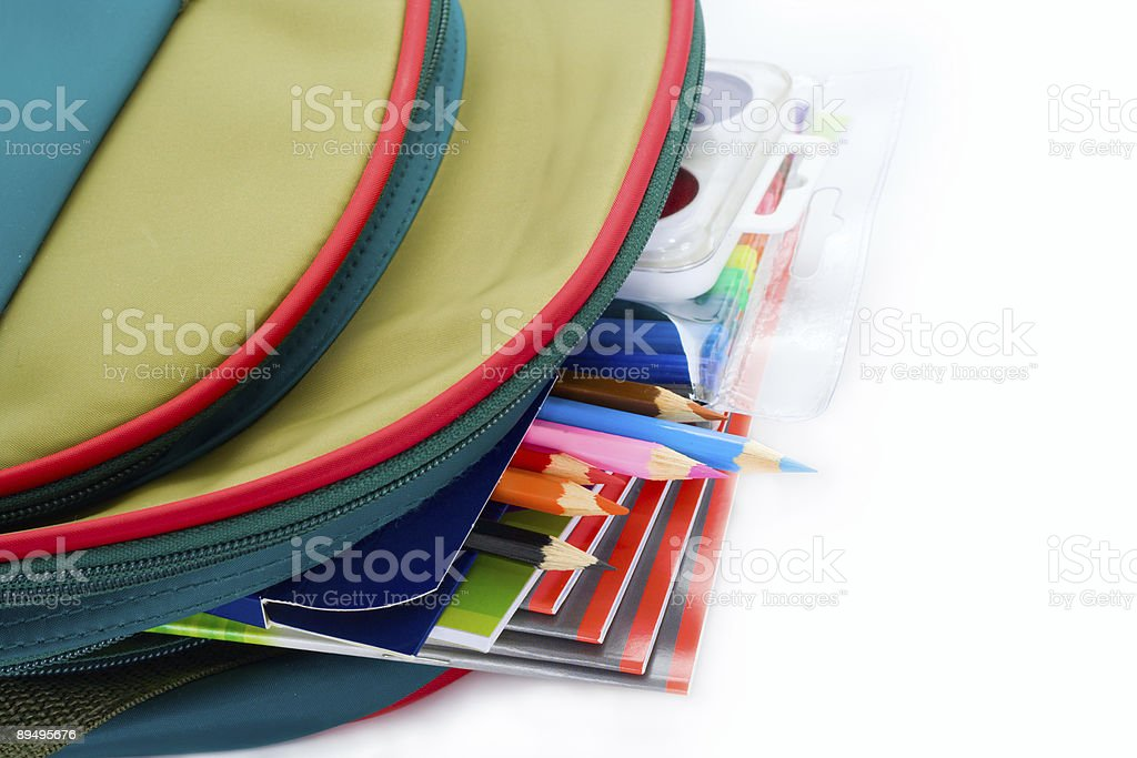 backpack stock photo