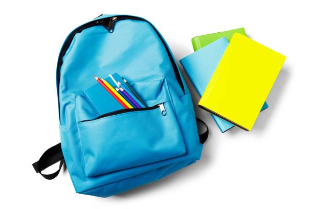 背包與學校供應, 被隔絕在白色 - 背囊 個照片及圖片檔