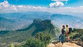 istock Backpackers Hiking Sierra Gorda in Mexico 919986706