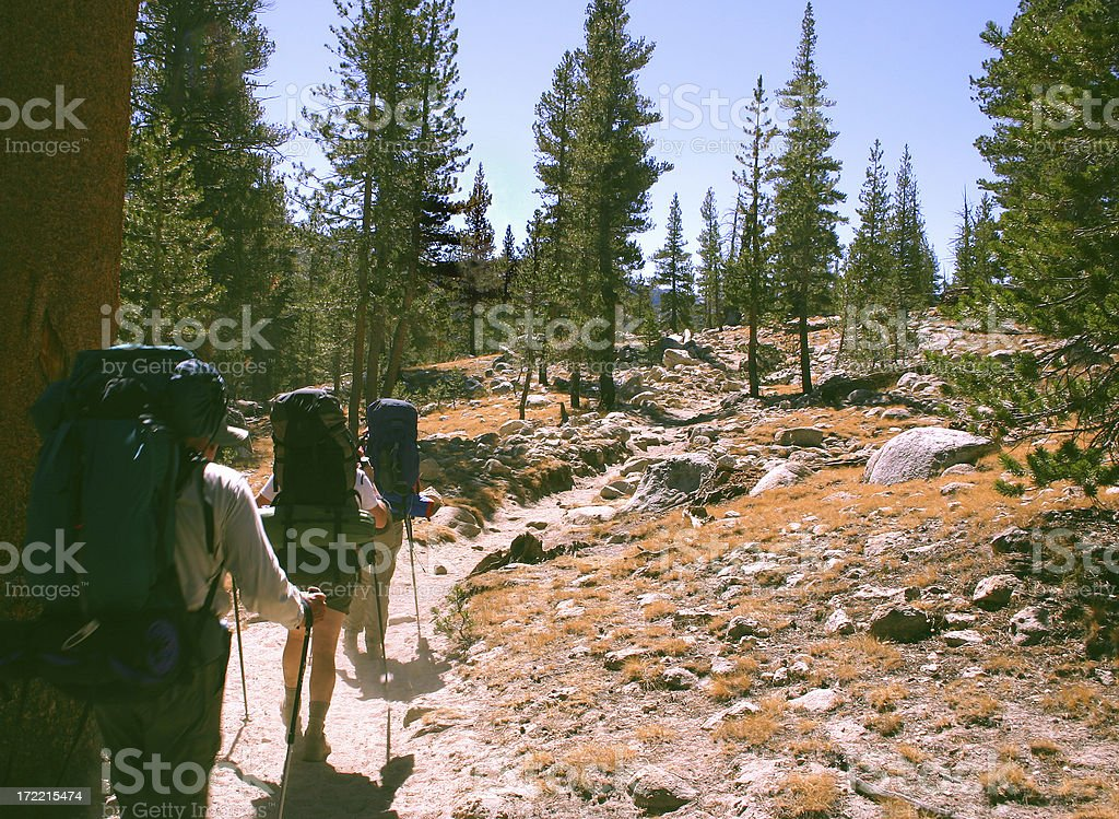 Backpackers - foto de stock