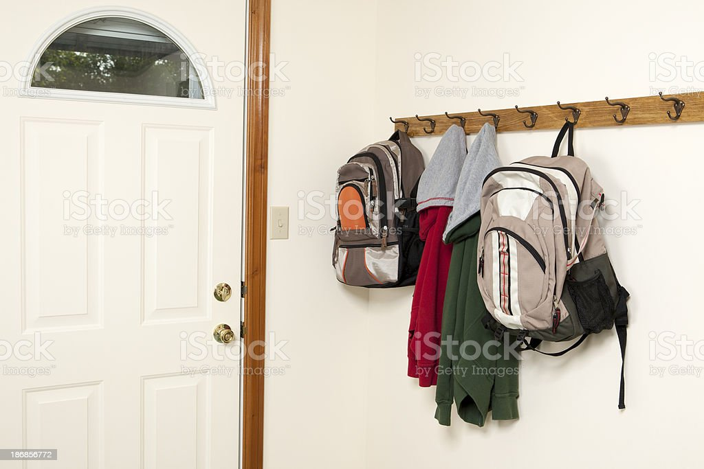 Backpacks and Jackets by Backdoor stock photo