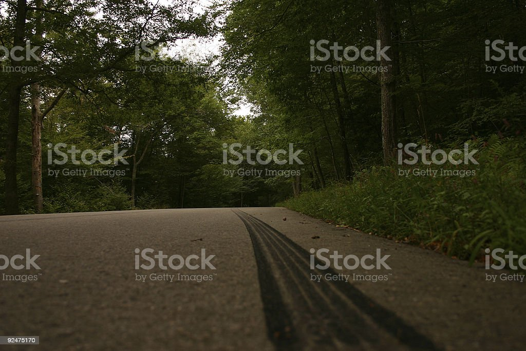 Back-road Hijinks stock photo