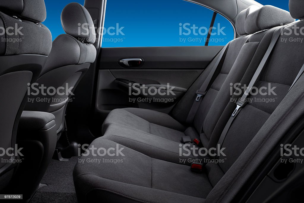 Backseat royalty-free stock photo