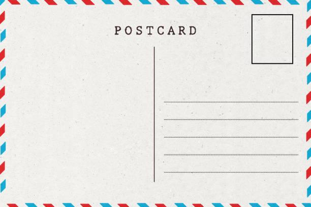 Dos Carte Postale - Photos et Images Libres de Droits - iStock