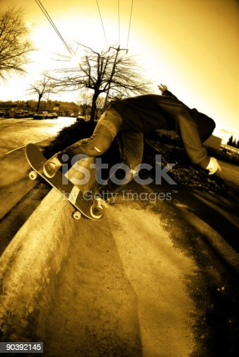 istock Backside Rock To Fakie 90392145