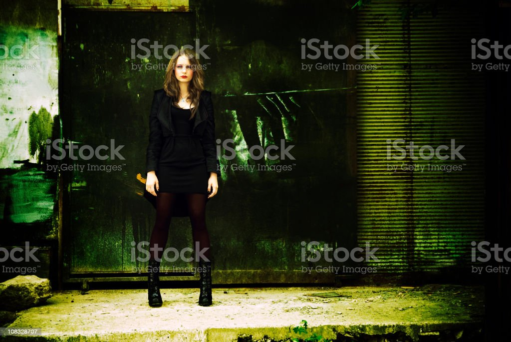 Backstreet fashion royalty-free stock photo