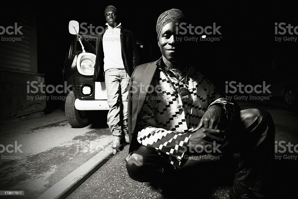 backstreet portraits royalty-free stock photo