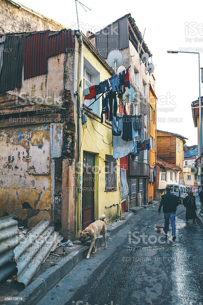 Backstreet scene. royalty-free stock photo