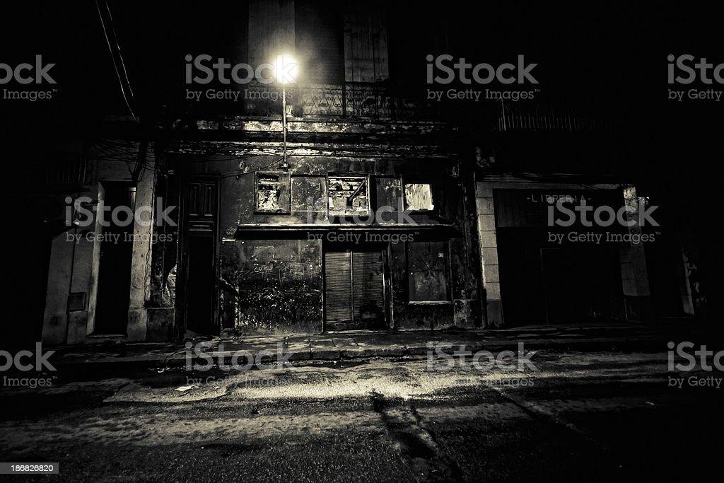 backstreet textures stock photo