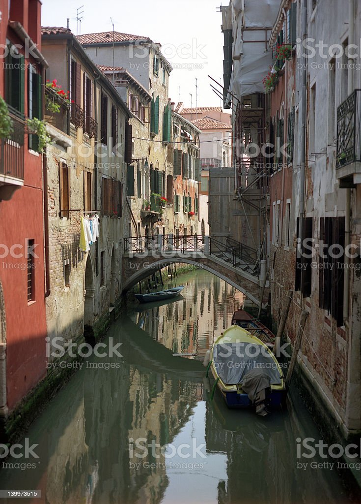 Backstreets of Venice royalty-free stock photo