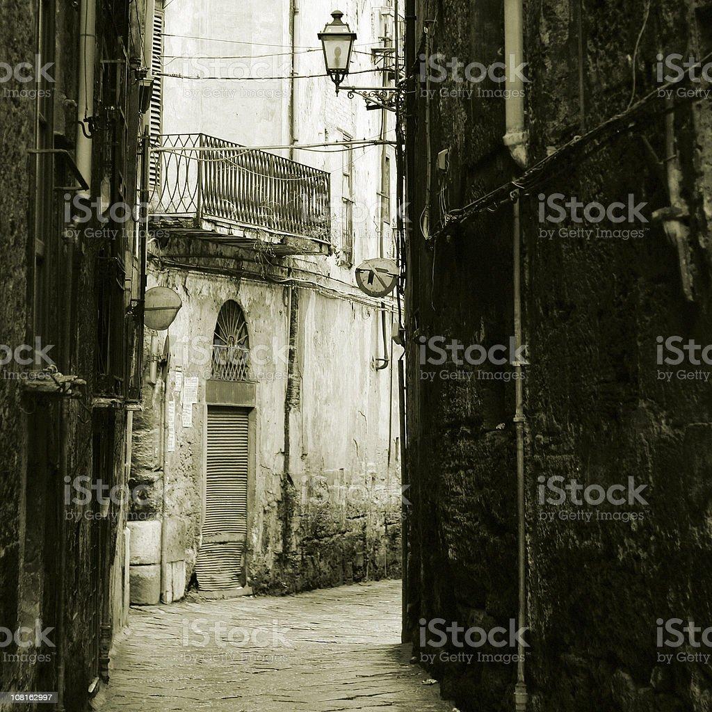 backstreets royalty-free stock photo