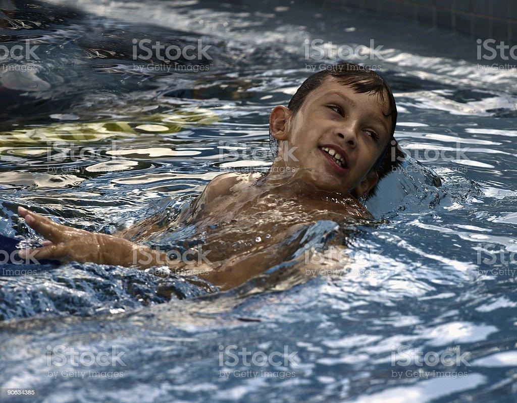 Backstroke stock photo
