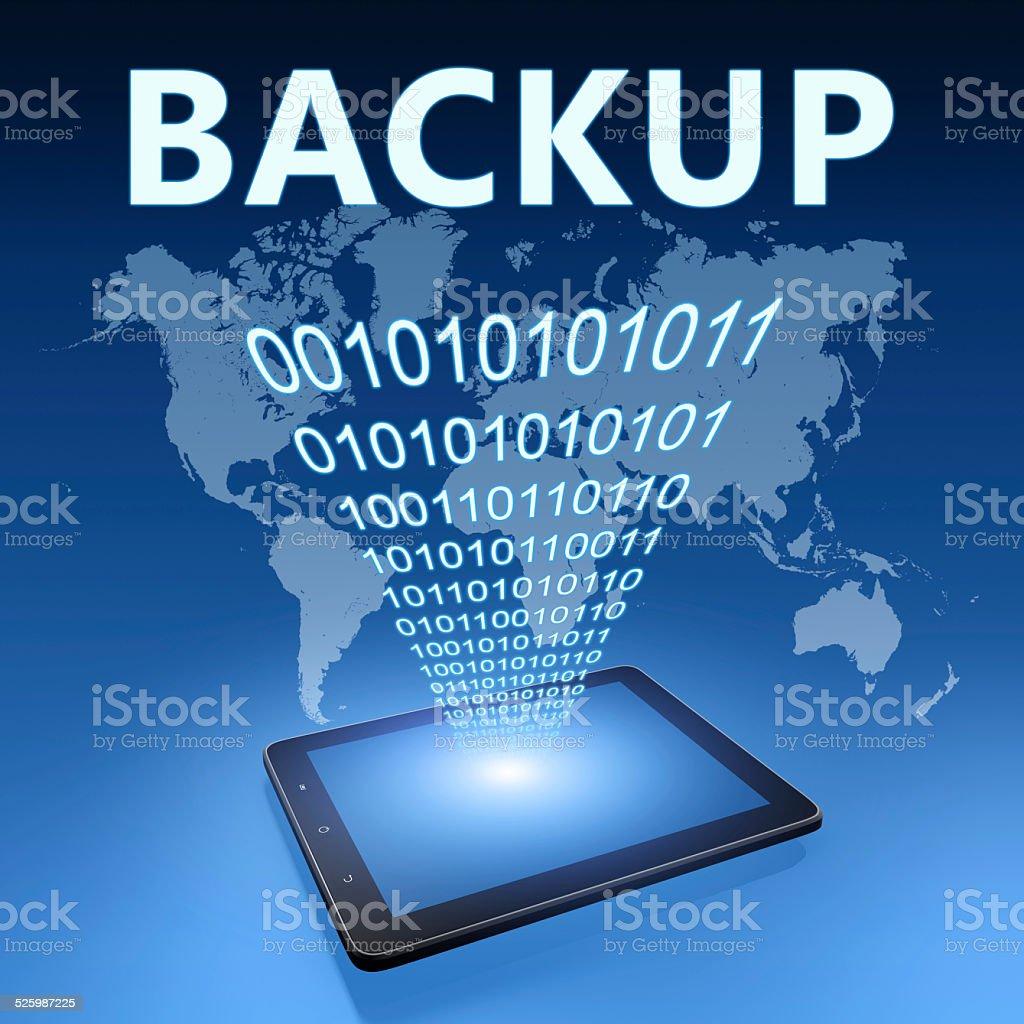 Backup stock photo