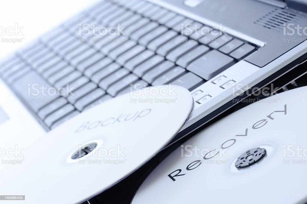 Backup Recovery royalty-free stock photo