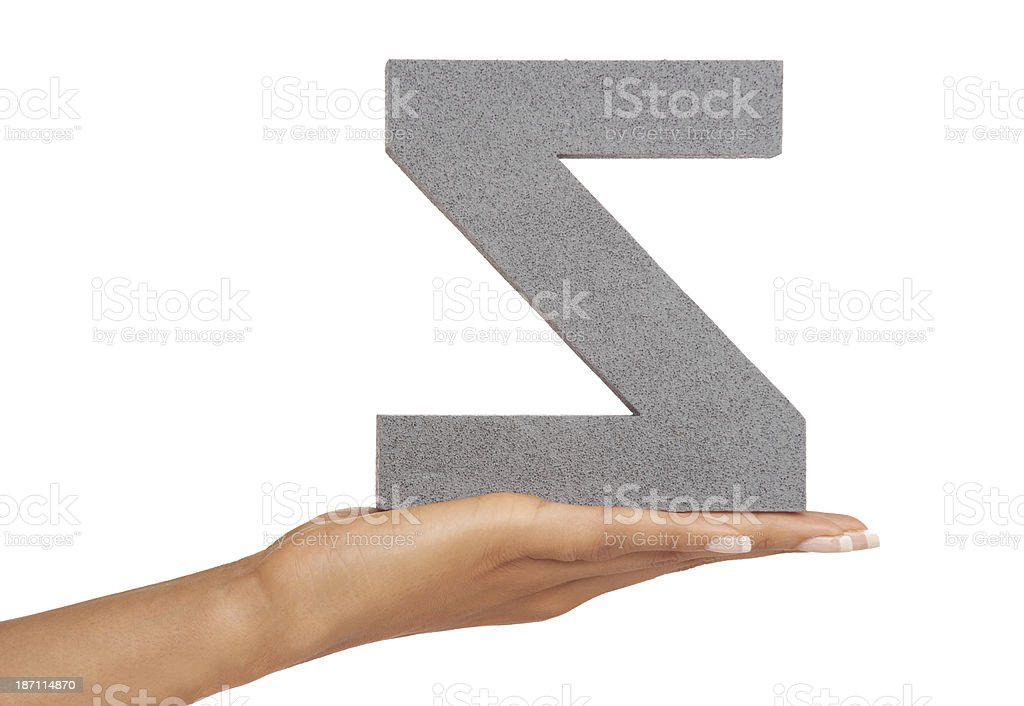 Backwards Z royalty-free stock photo