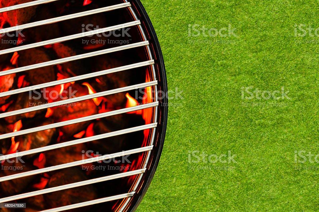 Backyard BBQ stock photo