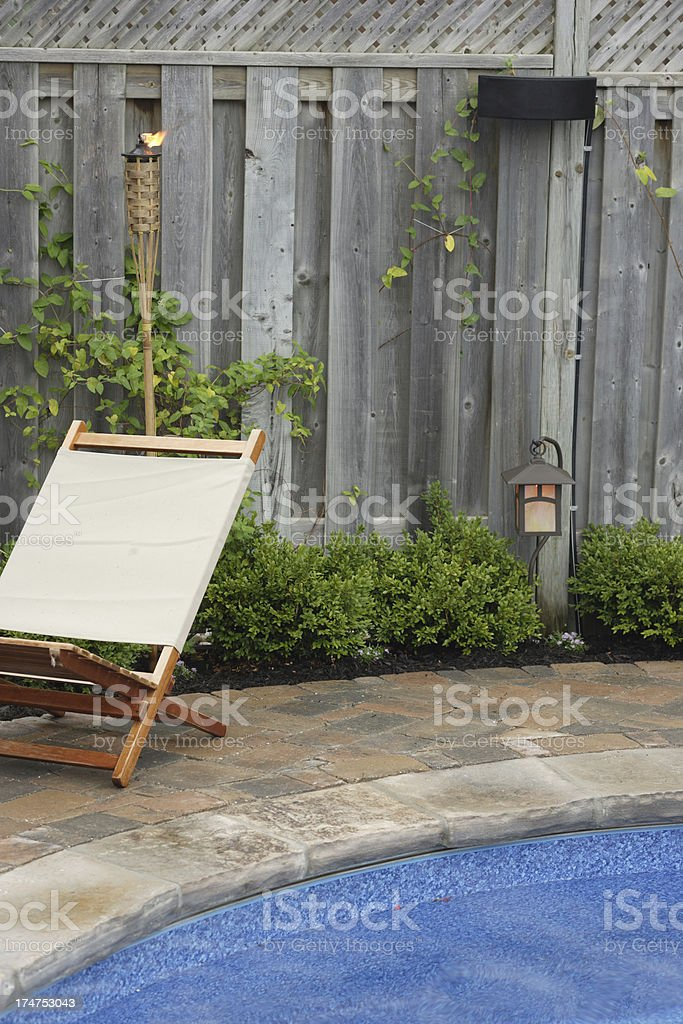 Backyard Delight royalty-free stock photo