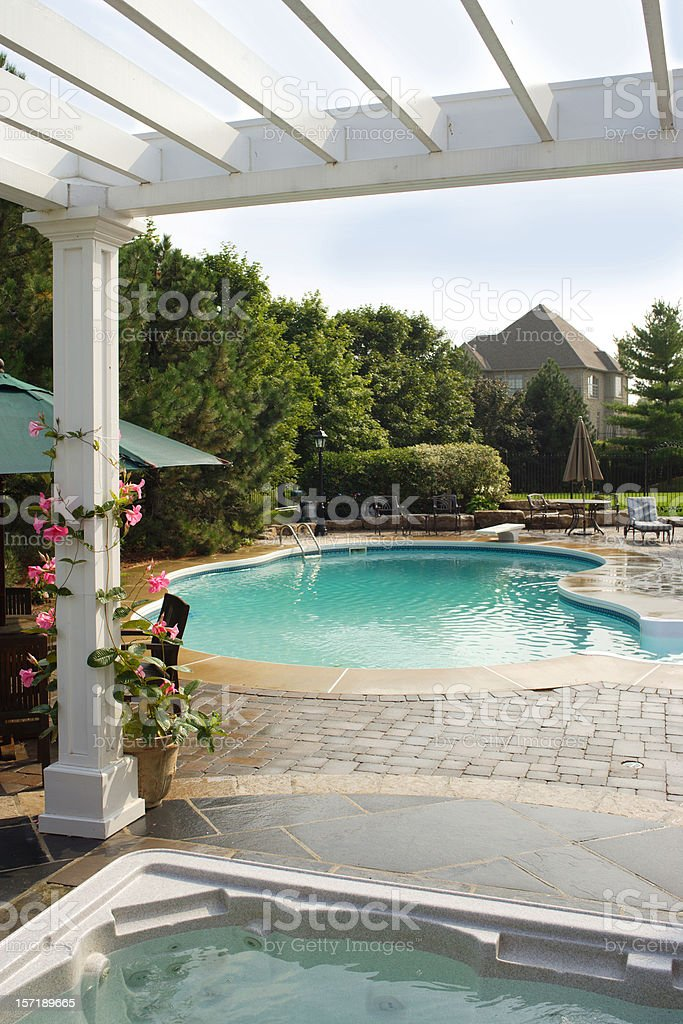 Backyard Heaven royalty-free stock photo