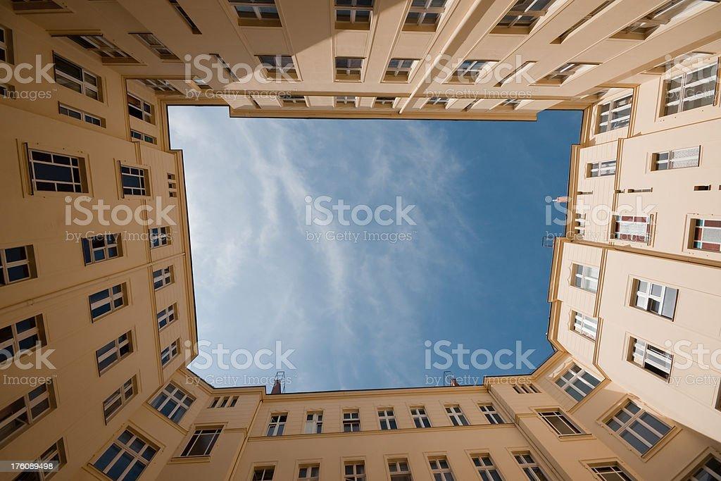 Hinterhof in Berlin – Foto