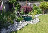 Water pump in the garden