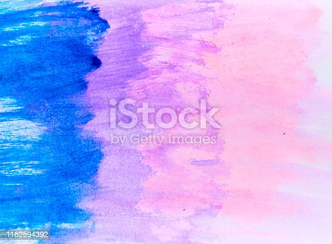 Bixesual colors in blurred pastel stripes for use as background.