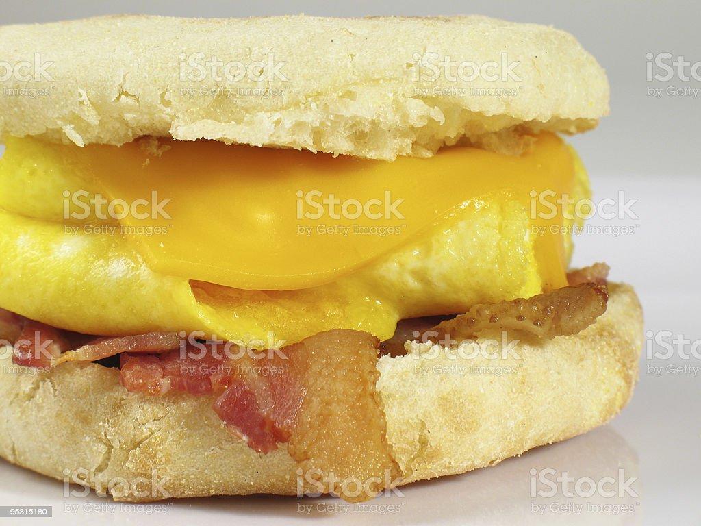 Bacon & Egg Sandwich stock photo