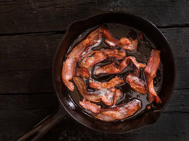 Bacon Frying – Foto