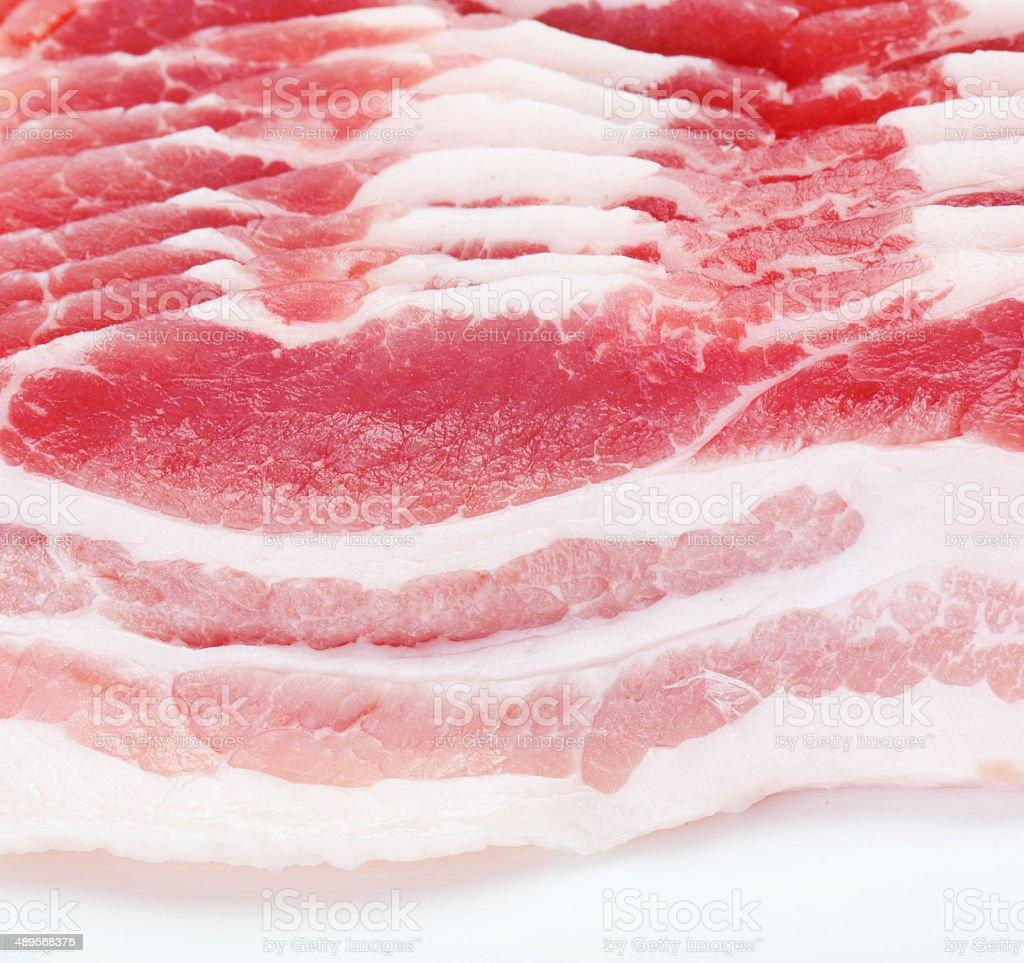Bacon meat stock photo
