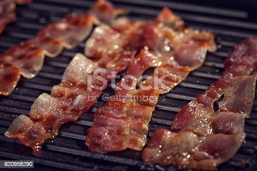 istock Bacon on The Grill 620958290